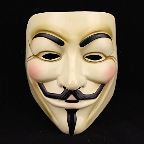 Domire V For Vendetta Guy Fawkes Fancy Dress Hallowee Face Mask by ()