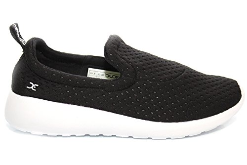 Dude Shoes Women's Chloe Black Slip On Black