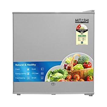 Mitashi 46 L 2 Star Direct-Cool Single-Door Refrigerator (MSD050RF100, Silver)