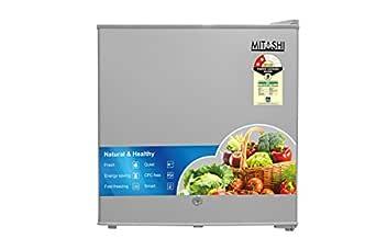 Mitashi 46 L 2 Star Direct Cool Single Door Refrigerator(MSD050RF100, Silver)