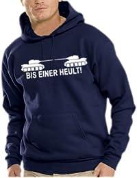 Touchlines Herren Kapuzen Sweatshirt Bis einer heult !