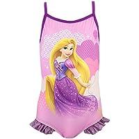 Disney Princesas - Bañador para niña - Enredados Rapunzel