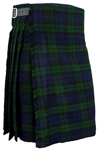 4c5a5471327e6 Para hombre blackwatch tradicional para falda escocesa Scottish Highland  Tartan e instrucciones para hacer vestidos