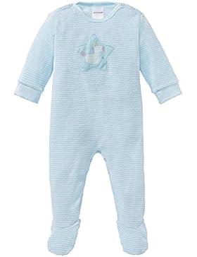Schiesser Mädchen Zweiteiliger Schlafanzug Einhorn Baby Anzug mit Fuß