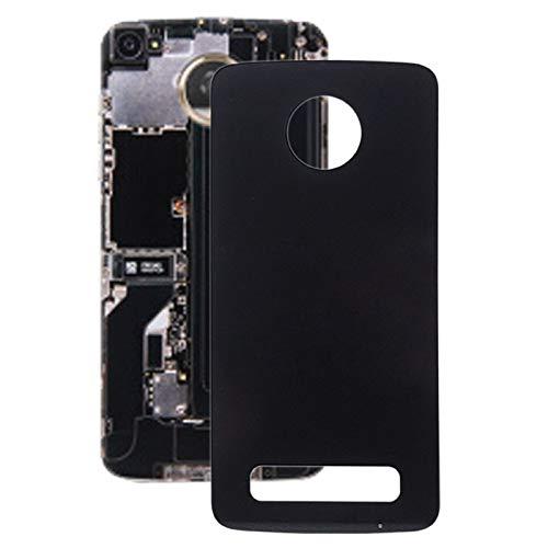 WANTONG Riparazione di Pezzi di Ricambio Battery Back Cover per Motorola Moto Z Play XT1635 (Nero) Pezzi di Ricambio (Colore : Black)