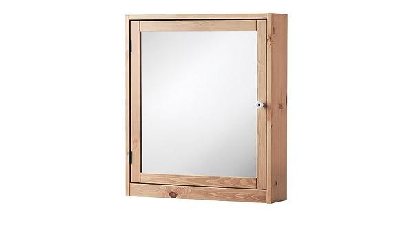 Ikea Silveran Mirror Cabinet Light Brown 60x14x68 Cm Amazon Co Uk Kitchen Home