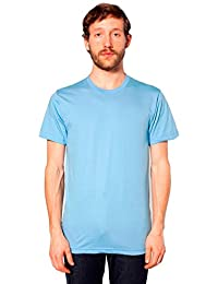 American Apparel Men's Unisex Fine Jersey Short Sleeve T-Shirt