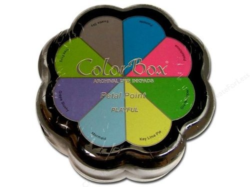 Clearsnap Colorbox Archival Dye Petal Points, Playful by CLEARSNAP -