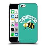 Head Case Designs Offizielle David Olenick Gelbes Jacket Tiere Soft Gel Hülle für iPhone 5c