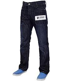 cec108570e4 ENZO EZ370 Designer masculine Regular Fit jambe droite Denim Jeans Pantalons