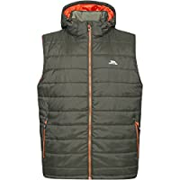 Trespass Mens Franklyn Padded Warm Hooded Insulated Bodywarmer Gilet