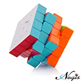 Negi 4x4x4 Stickerless New Speed Cube Puzzle