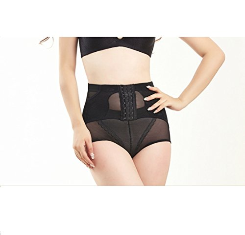 Abdomen reafirmante que forma los pantalones de la cadera que forma las bragas posparto transpirables cintura alta abotonada bragas de la ropa interior de las señoras pantalones de cintura CUIYAN