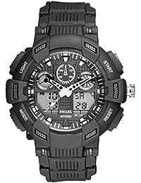 Beydodo Reloj Adolescente Reloj Hombre Relojes Electronicos Reloj de Doble Pantalla Relojes LED Reloj Hombre Luminoso