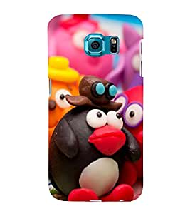 Funny Characters Hard Polycarbonate Designer Back Case Cover for Samsung Galaxy S6 Edge+ :: Samsung Galaxy S6 Edge Plus :: Samsung Galaxy S6 Edge+ G928G :: Samsung Galaxy S6 Edge+ G928F G928T G928A G928I
