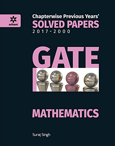 Chapterwise Solved Papers Mathematics GATE - 2018