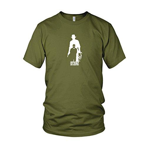 Obtainer of rare Antiquities - Herren T-Shirt, Größe: XL, Farbe: army (Schatz Jäger Kostüme)