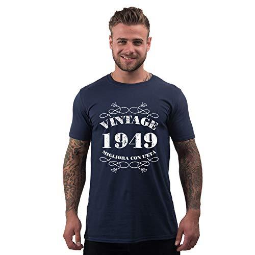 Bang Tidy Clothing T Shirt Da Uomo Da 70esimo Compleanno Vintage 1949 Maglietta Idea Regalo Per I 70 Anni