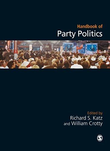 Handbook of Party Politics por Richard S Katz