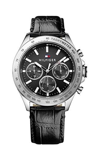 Tommy Hilfiger Herren-Armbanduhr Sophisticated Sport Analog Quarz Leder 1791224
