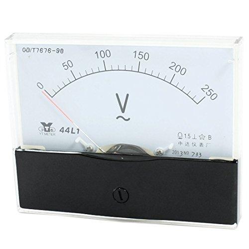 Analoges Voltmeter AC 0 - 250 V, Messinstrument, 44L1 - Ac Voltmeter
