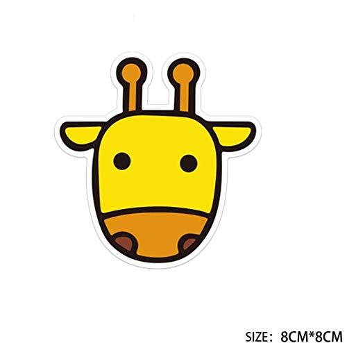 Cartone Animato Carino Giraffa Valigia Adesivo Ins Femminile Tendenza Skateboard Chitarra Notebook Adesivo Impermeabile Singolo