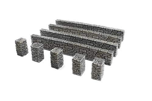 War World Gaming World at War - Muros pilares piedra