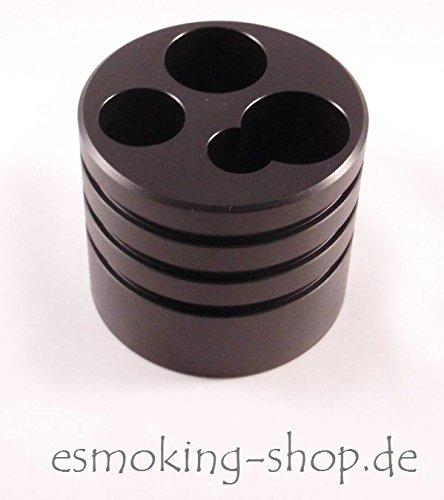 Getränkehaltereinsatz für e-Zigarette - Autohalter e-Zigarette - dampfen - Akkuträger mit Seitentaster - E-Zigarettenhalter