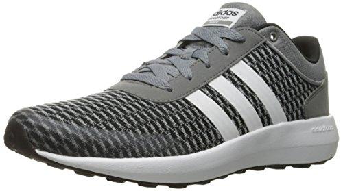 adidas , Herren Laufschuhe grau Schwarz/Weiß/Grau 12.5 M US Men Schwarz/Weiß/Grau