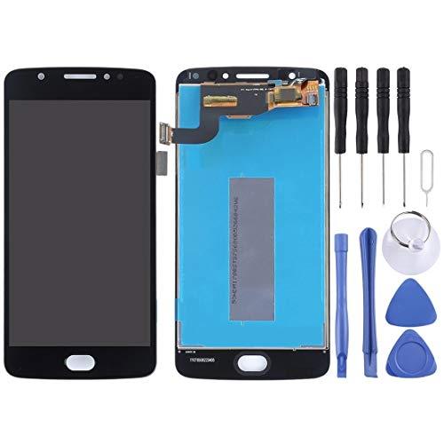 MaYing New Schermo LCD e Digitizer Assemblea Completa for Motorola Moto E4 XT1763 (Brasile Version) Replacment Parts Kits (Colore : Black)