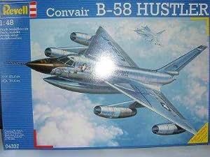 Revell Convair B-58 Hustler B58 Nouveau Boîte Comme Neuf 4337 04337 1/48 Revell Maquette D'Avion