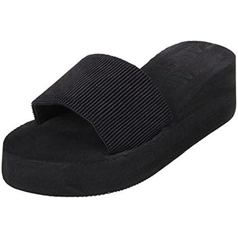 Fortan Scarpe Donna sandali di estate Slipper indoor & outdoor