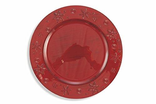 Galileo Casa étoiles Dessous de Plat, Rouge, 33 cm