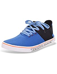 ROADSTAG Men's Slip-Ons With Lace-Ups Sneakers (Blue)