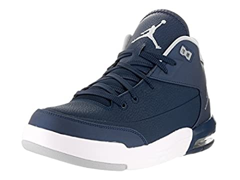Nike Men's Jordan Flight Origin 3 Basketball Shoes, Azul (Midnight Navy / White), 8 UK