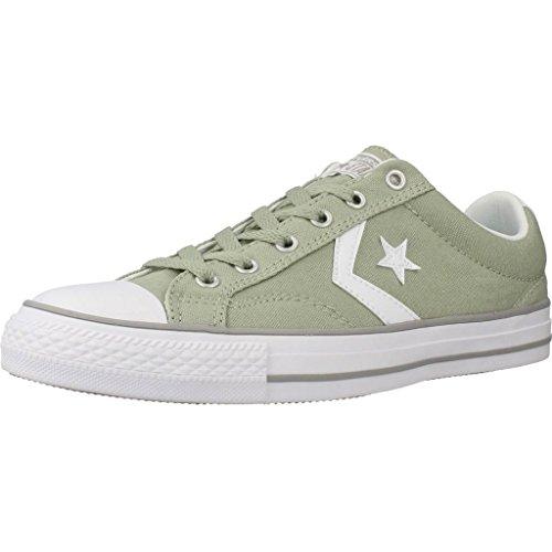 Uomo scarpa sportiva, colore Verde , marca CONVERSE, modello Uomo Scarpa Sportiva CONVERSE CHUCK TAYLOR STAR PLAYER OX Verde Verde
