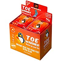 OnlyHot Toe Warmers, Calentadores de pies, 9 Horas de Calor, listos para Usar, autocalefactantes, 100% Natural, Talla única, Adhesivos, 40 Pares de Cajas de Pantalla