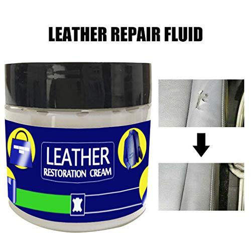 99native 1/3/ 4 Stück Creme Reparieren, Lederpflege, Leder Kleidung Schuhe Kratzer und Risse Leder Reparatur Schuhcreme Leder Reparatur Creme (1 Stück) -