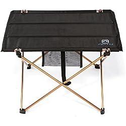 Lixada Table Pliante Portable Table Camping Pliable En Plein Air Pique-nique 7075 Alliage d'Aluminium Ultra-léger ( Table seulement )