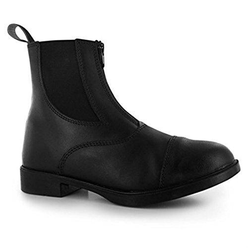 Requisite Westford Damen Reitstiefel Reiter Stiefeletten Reitsport Schuhe Schwarz