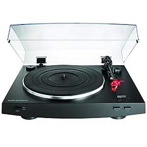 Audio-Technica AT-LP3BK Turntable Automatic Belt-Drive Black