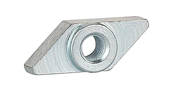 Riegler 106169 235 12 M Gewindeplatte Für Die T Nut Für Kompakt Normzylinder M3 1stk Gewerbe Industrie Wissenschaft
