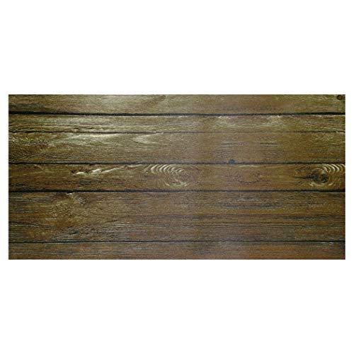 koko doormats Alfombra de Vinilo, 49 x 98 cm - Madera
