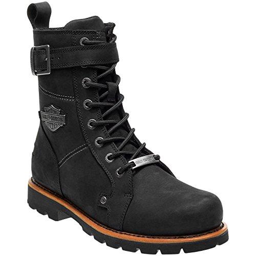 Harley Davidson Herren Stiefel Schwarz, Schuhgröße:EUR 43