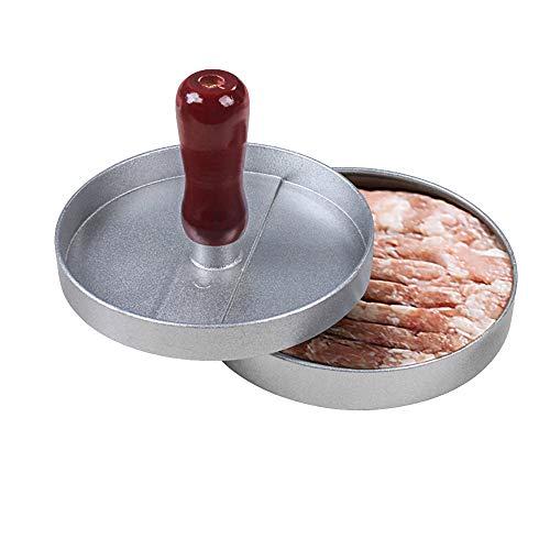 ZUHN Hamburger Press Gefüllte Burger Fleisch Grill Patty Burger Maker Formwerkzeug für BBQ Grill -