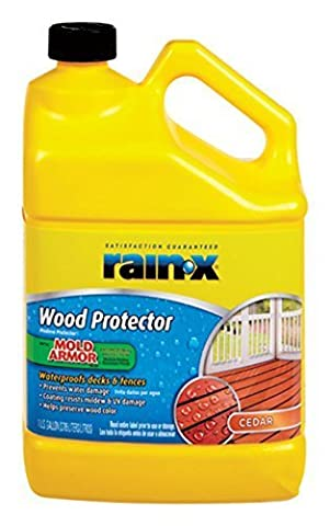 Rain-X Advanced Tinted Wood Protector Latex Matte Finish Cedar 128 oz. Low VOC by WM BARR