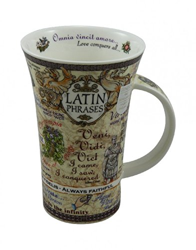 Dunoon Tasse Glencoe Latin Phrases 500ml