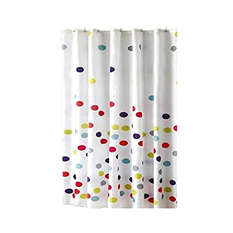 1/pc Print Shower Curtain Bathroom Waterproof Polyester Fabric 120*180cm(47.24x70.86in) , 220*200cm
