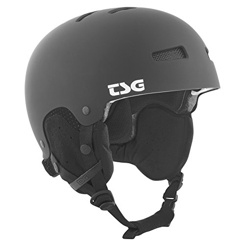 TSG Snowboardhelm Gravity Solid Color, flat black, XXL, 750089