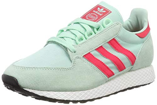 adidas Forest Grove W Scarpe da fitness, Donna, Verde (Clear Mint/Active Pink/Chalk White), 38 2/3 EU